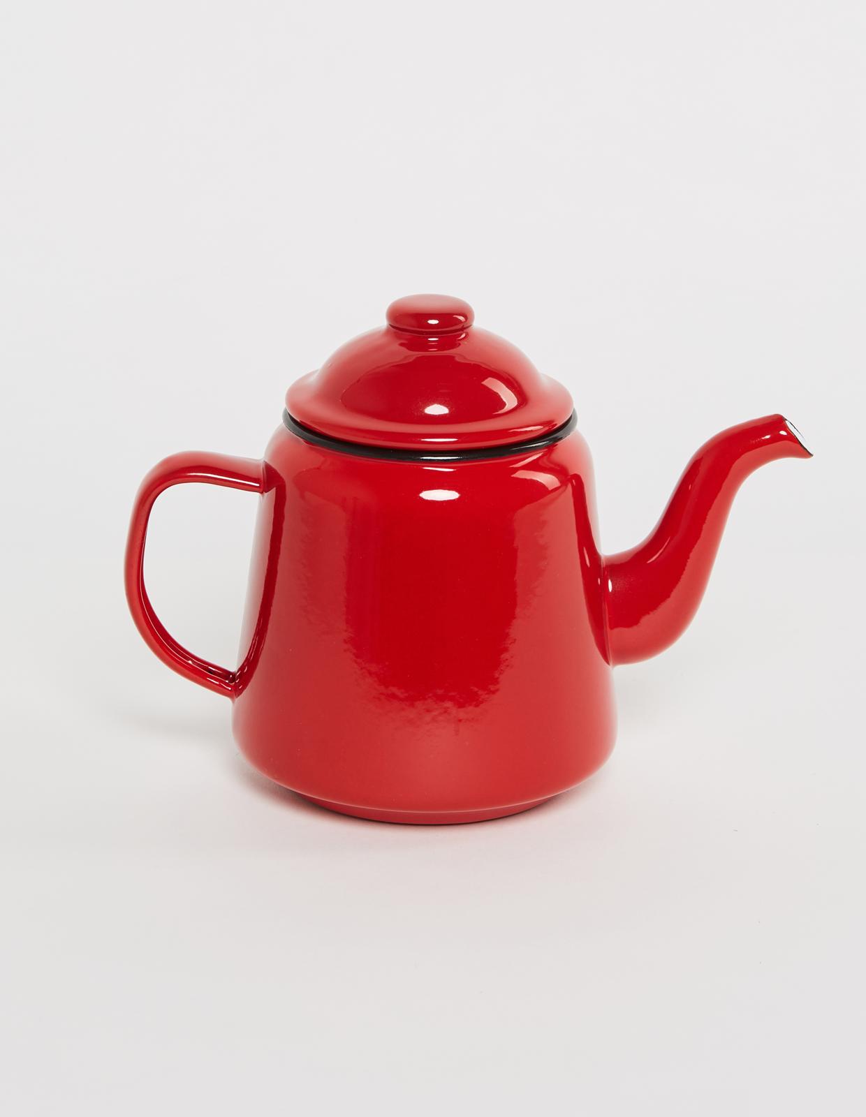 Чайник FALCON красный с лого
