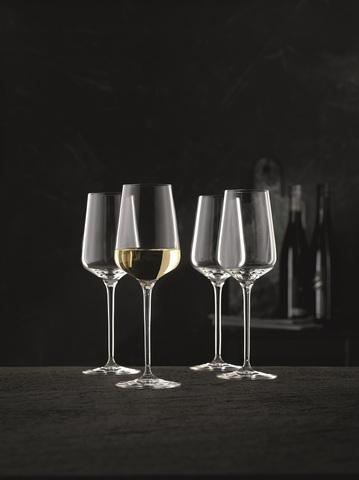 Набор из 4-х бокалов для вина White  Wine 380 мл, артикул 98074. Серия ViNova