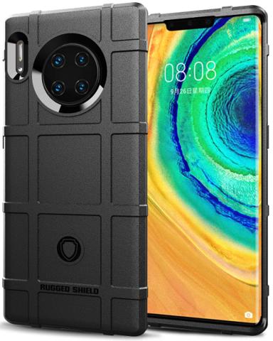 Чехол Huawei Mate 30 Pro (Mate 30 RS) цвет Black (черный), серия Armor, Caseport