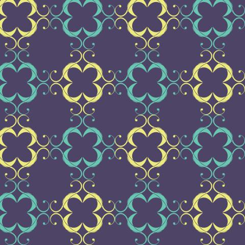 Цветочные квадратики