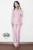 Полосатая пижама из вискозы B&B