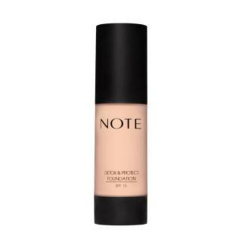 Note Detox and Protect Foundation Тональный крем