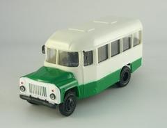 KAVZ-3270 Bus white-green Kompanion 1:43