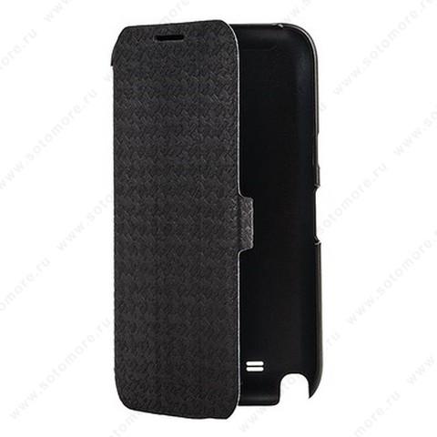 Чехол-книжка Yoobao для Samsung Galaxy Note 2 N7100 - Yoobao Fashion Leather Case (British style pattern) Black