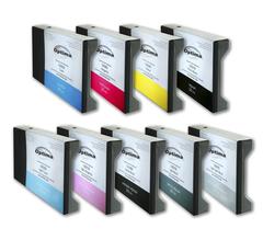 Комплект из 9 картриджей Optima для Epson 7800/9800 9x220 мл