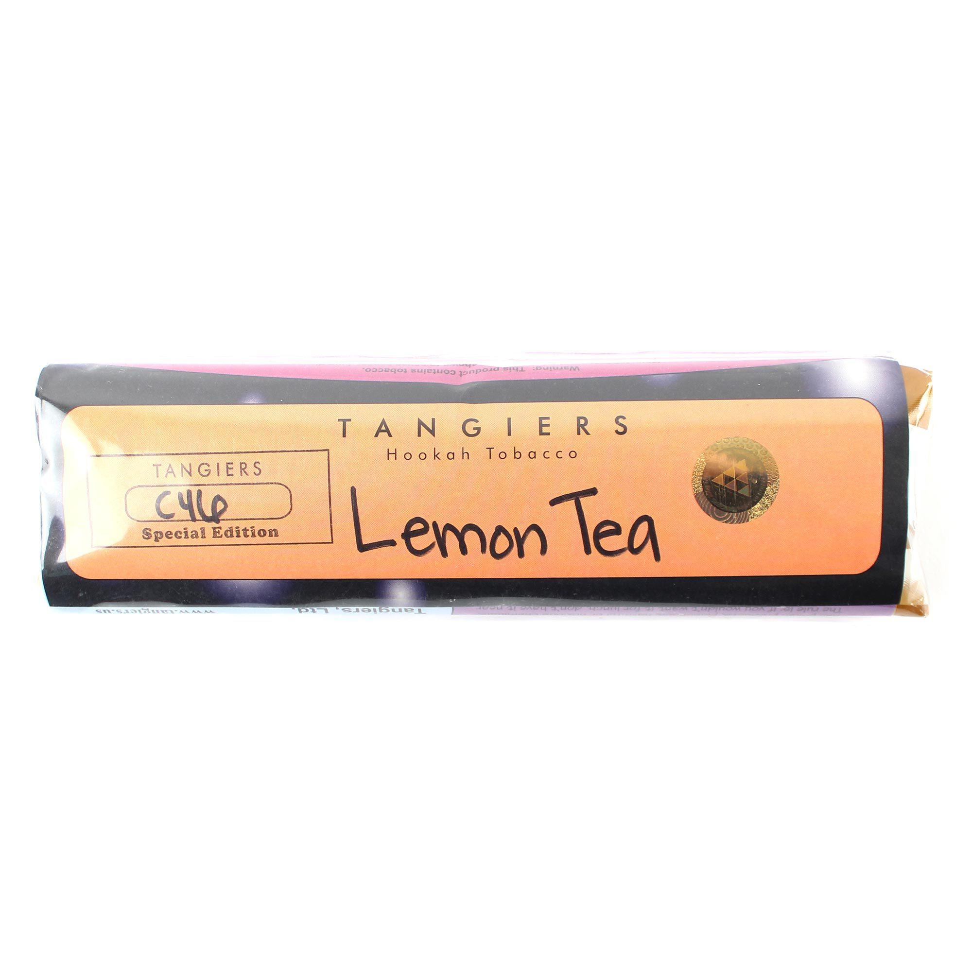 Табак для кальяна Tangiers Noir (оранжевый) C46 Lemon Tea 250 гр