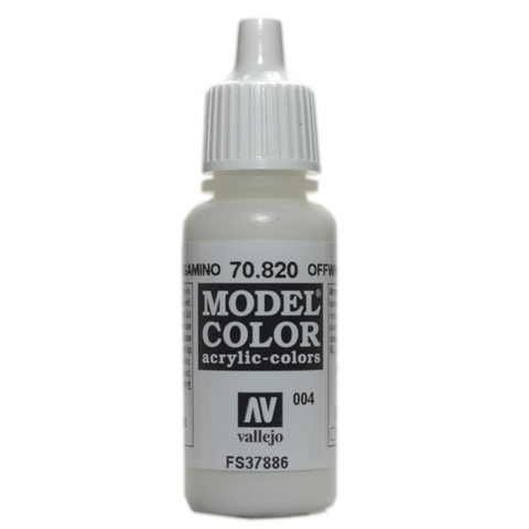 Model Color Offwhite 17 ml.