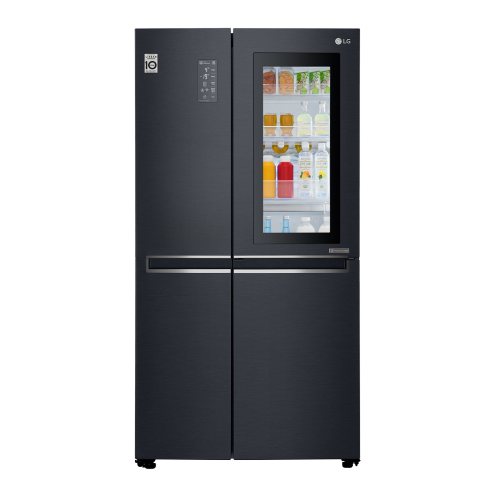 Холодильник LG InstaView Door-in-Door GC-Q247CBDC фото