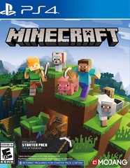 PS4 Minecraft + 700 Minecoins (русская версия)