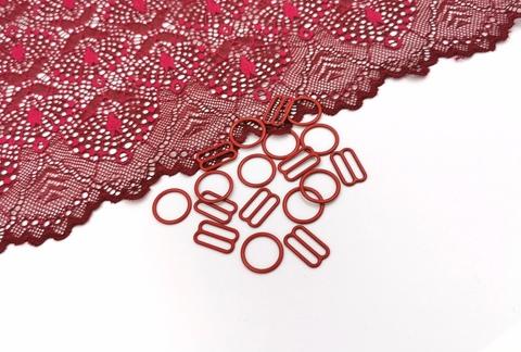 Регуляторы, 15мм, металл, темно-красный, (Арт: RE/15-101), шт