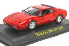 Ferrari 328 GTB 1985 red 1:43 Eaglemoss Ferrari Collection #39