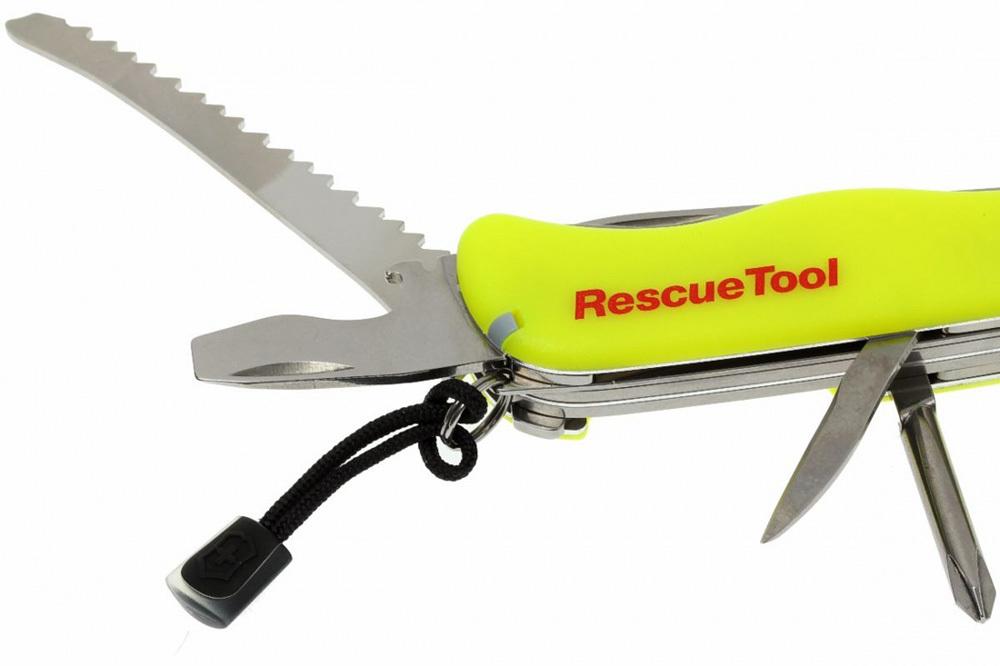Складной нож Victorinox RescueTool One Hand (0.8623.MWN) - Wenger-Victorinox.Ru