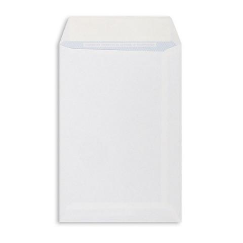 Пакет Businesspack С5 из офсетной бумаги 80 г/кв.м стрип (500 штук в упаковке)