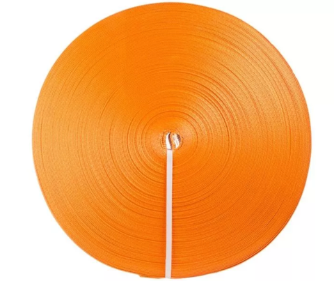 Лента текстильная TOR 6:1 250 мм 37500 кг (оранжевый), 100м