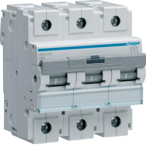 Автоматический выключатель 3P 50kA C-32A 4.5M