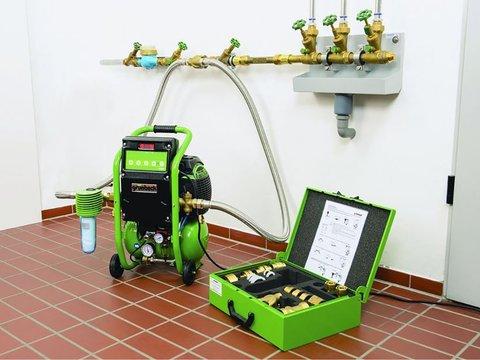 Промывка системы отопления зданий
