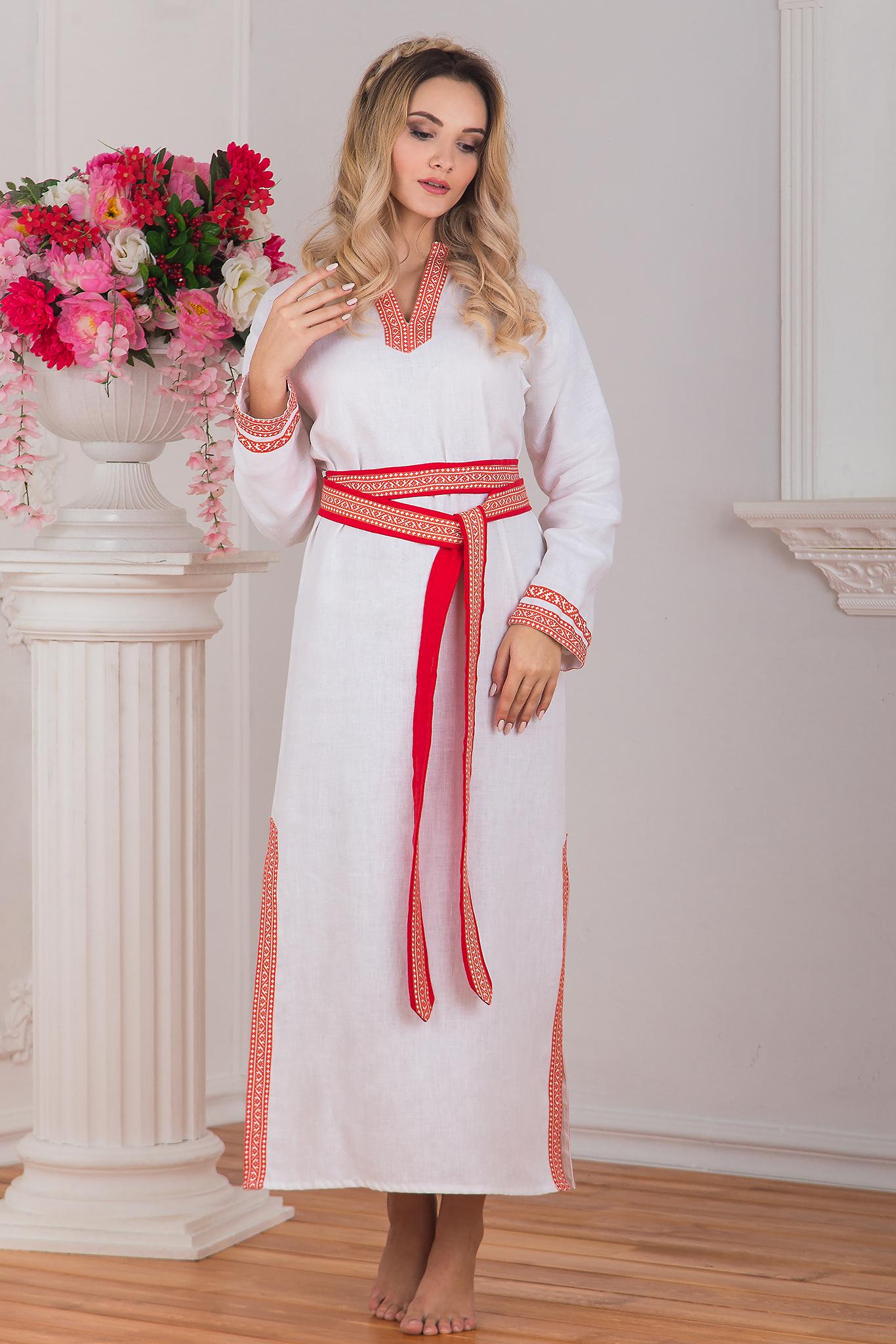 Женская славянская рубаха Верная. Славянская одежда в интернет магазине Иванка