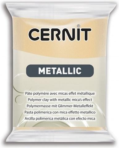 Полимерная глина CERNIT METALLIC 56г, шампань 045