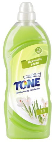 Sellwin Pro Washing Tone Кондиционер для белья Нежность весны 1000мл