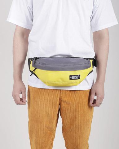 Сумка Anteater Minibag Grey/Yellow