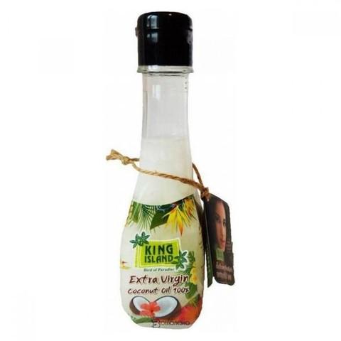 King Island Масло кокосовое, пластиковая бутылка, 200 мл