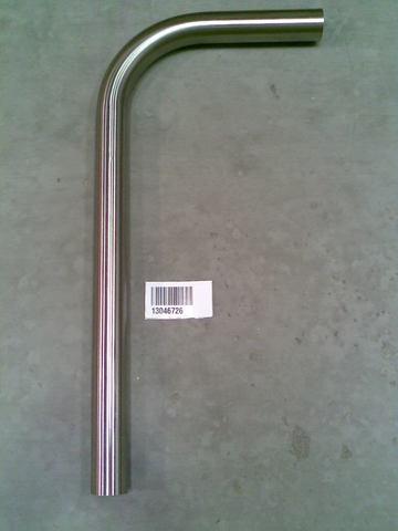 13046726 Труба полая 90 град. нар диаметр 51 мм для молокопроводов