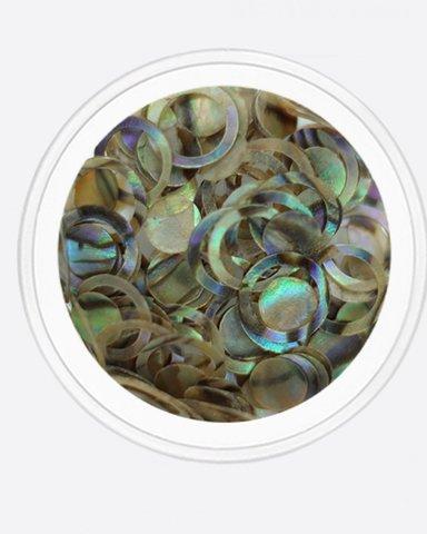 ARTEX Ракушка геометрия, круги, диски (радужный)