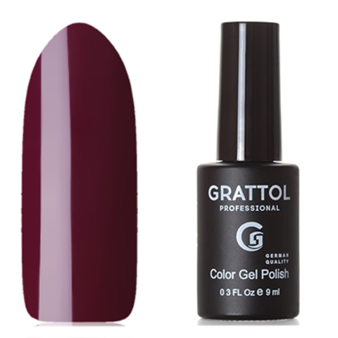 Grattol, Гель-лак Classic Collection №101, Maroon 53462