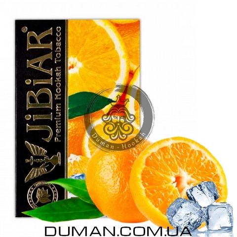 Табак JiBiAR Ice Orange (Джибиар Лед Апельсин) 50g