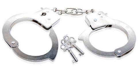 Металлические наручники Beginner's Metal Cuffs