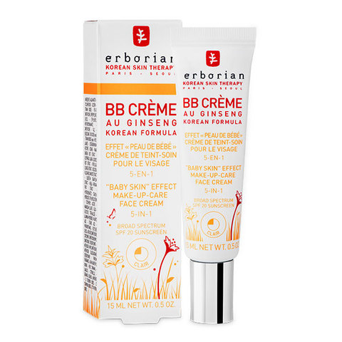 Erborian BB Крем клеар с тонирующим эффектом 5 в 1 BB Cream Clair Baby Skin Effect Makeup-Care Face Cream 5 in 1