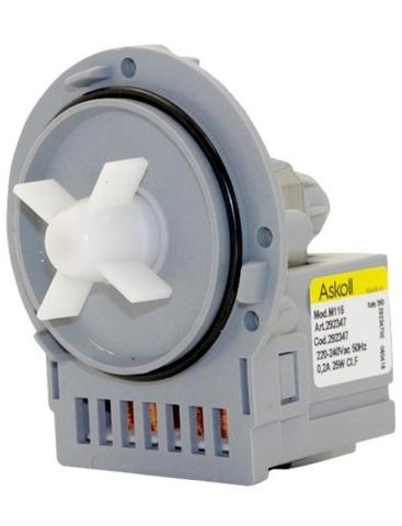 Насос для стиральной машины Electrolux/AEG/Zanussi/Gorenje без улитки - Askoll M116/M253/M231, см.PMP014UN
