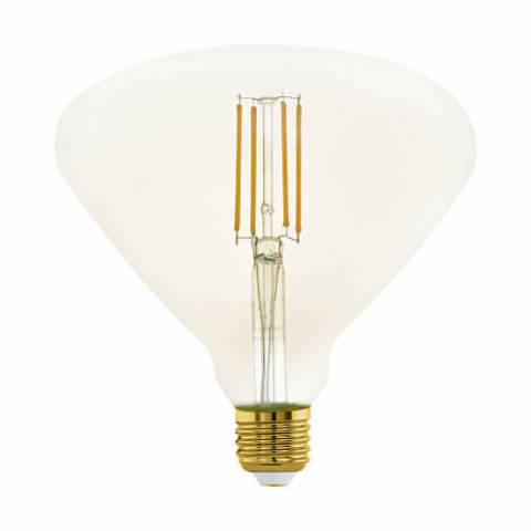 Лампа LED филаментная диммир. янтарного цвета Eglo MID SIZE LM-LED-E27 4W 380Lm 2200K BR150 11837