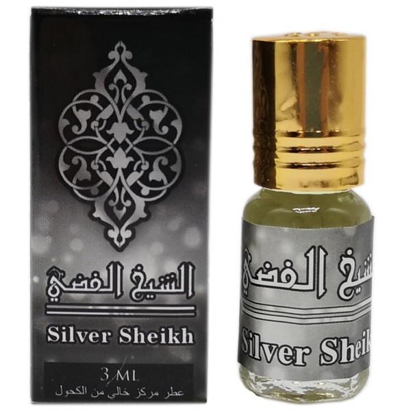 Silver Shaikh 3 мл арабские масляные духи от Захра Zahra Perfumes