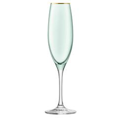 Набор из 2 бокалов флейт для шампанского Sorbet, 225 мл, зелёный, фото 3