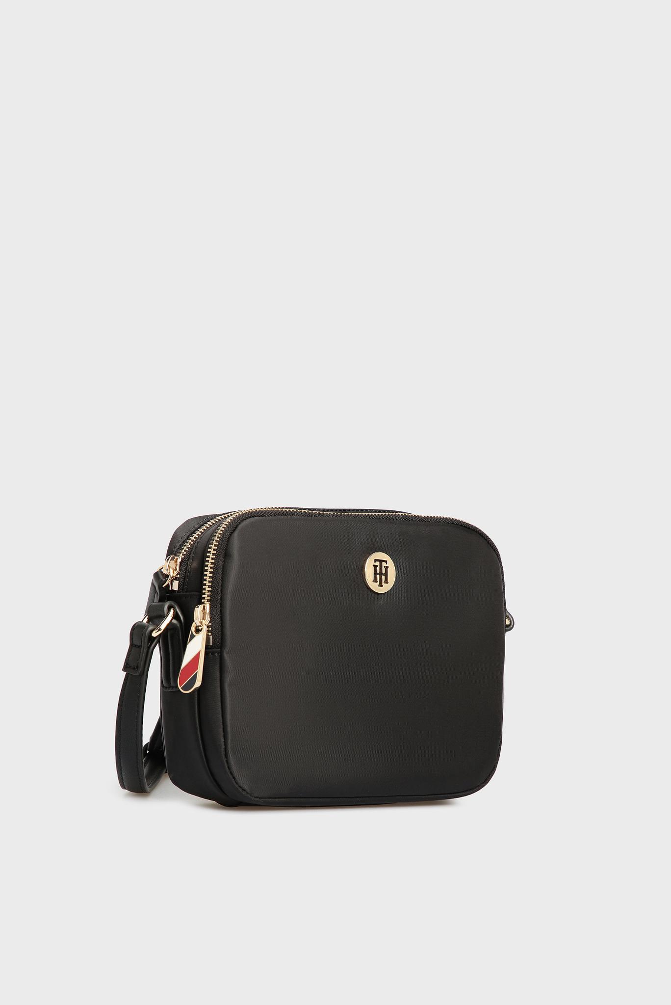 Женская черная сумка через плечо POPPY Tommy Hilfiger