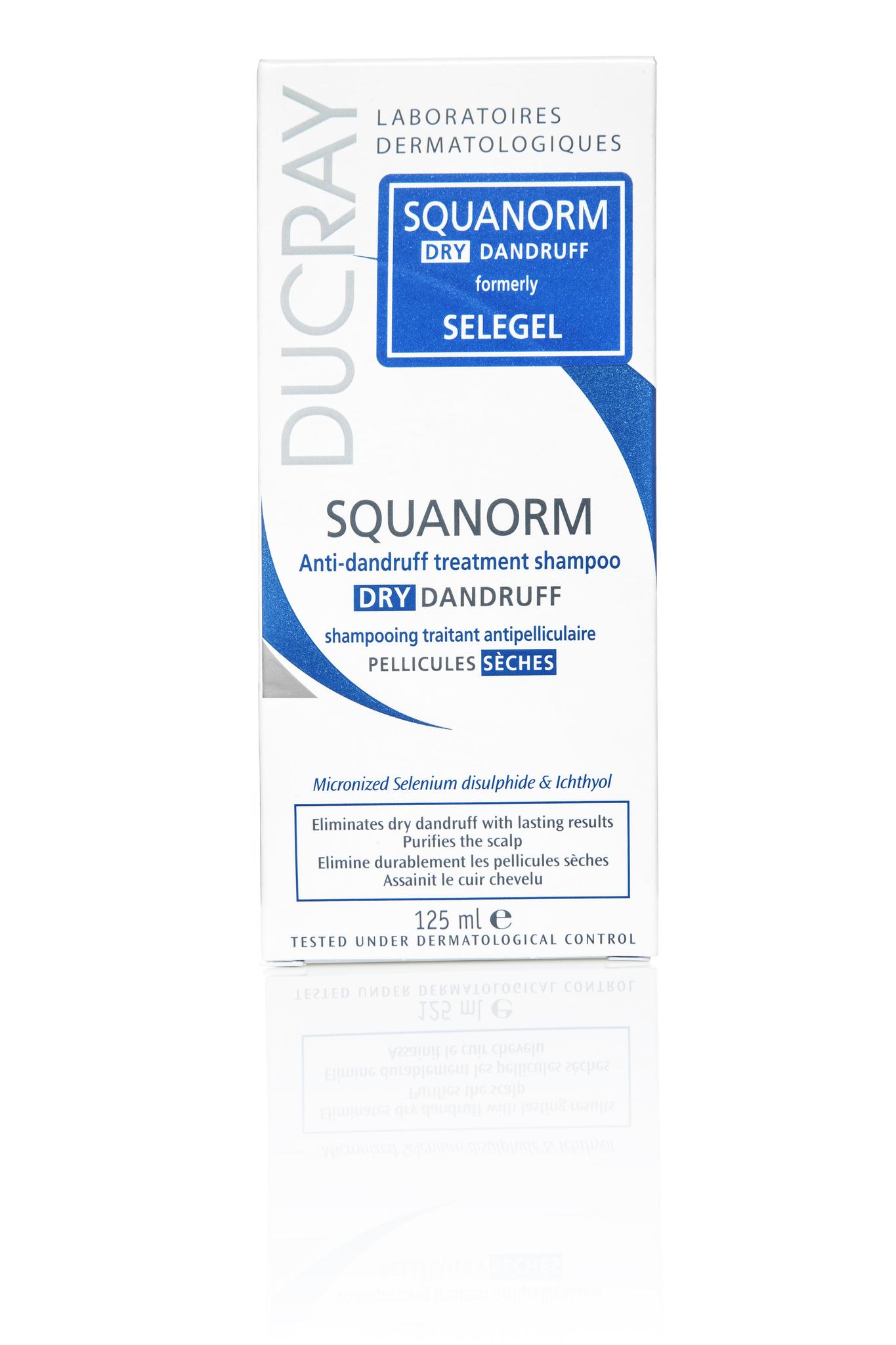 Ducray Squanorm лосьон от жирной перхоти 200 мл.