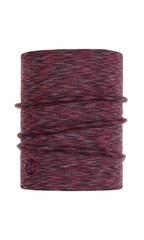Теплый шерстяной шарф-труба Buff Wool Heavyweight Shale Grey Multi Stripes
