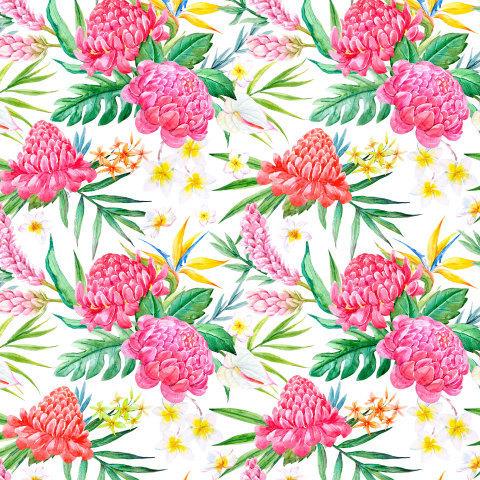 Тропический принт. Tropical print