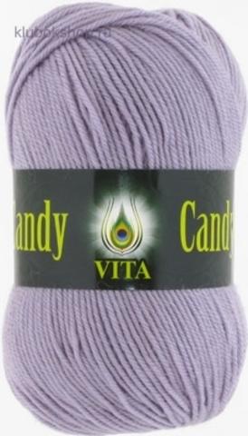 Фото Пряжа Vita: Candy цвет 2549 Светло-сиреневый - купить в интернет-магазине