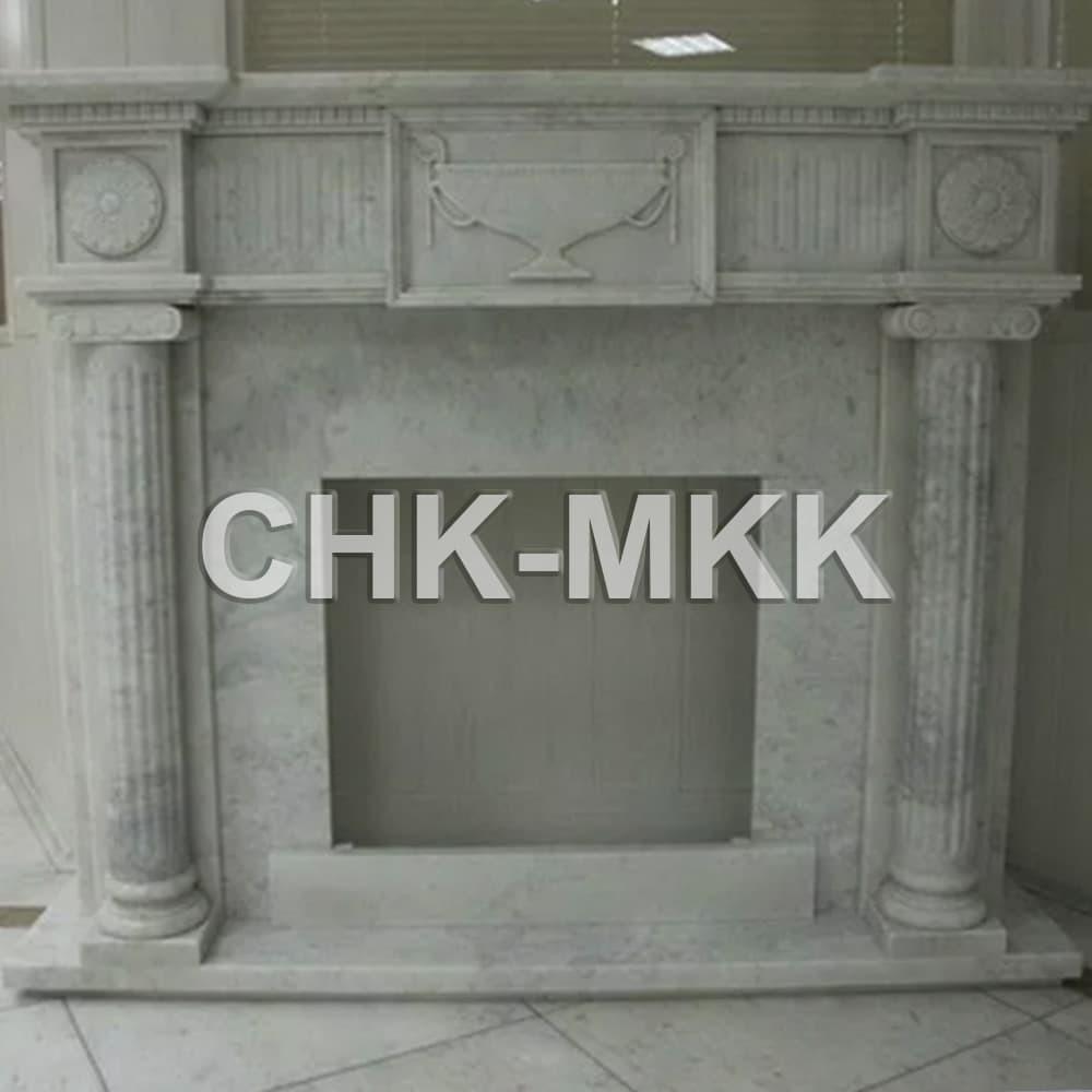 Портал для камина из Мрамора Коелга - Россия