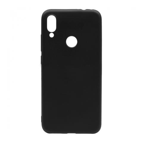 Прорезиненный чехол для Xiaomi Redmi 7 черный