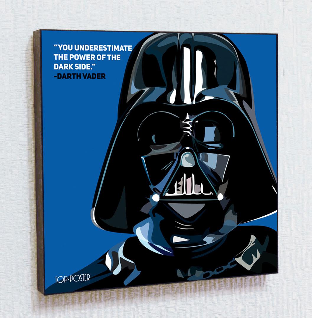 Картина ПОП-АРТ Дарт Вейдер   STAR WARS   Звездные Войны