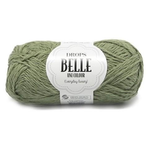 Пряжа Drops Belle 10 зеленый мох