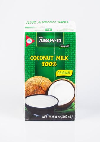 Молоко Кокосовое, т/п, 0,5 л (ЭксИм Пасифик)