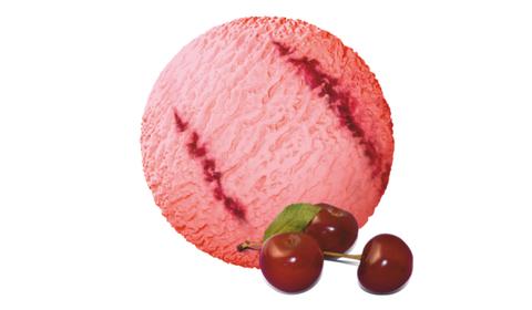 Мороженое вишневое (пломбир 17%) Престиж 1,3кг (2,5л)