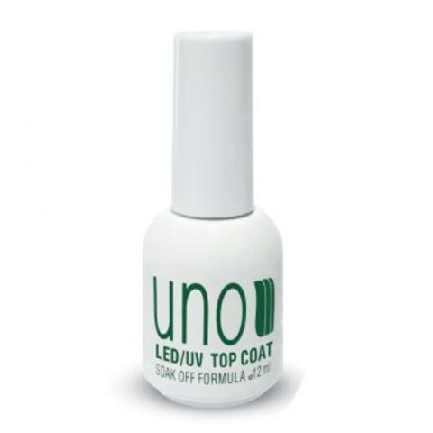 Uno Top Coat, верхнее покрытие для гель-лака, 12ml