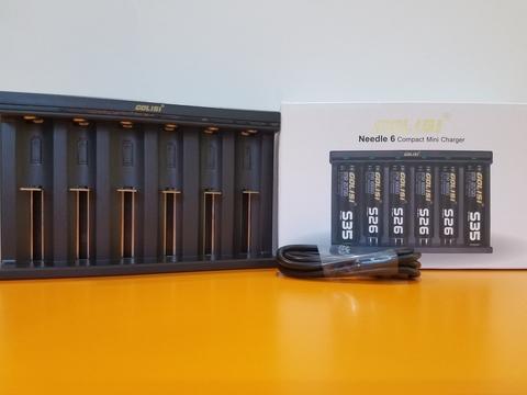 Зарядное устройство Golisi Needle Smart USB на 6 слотов