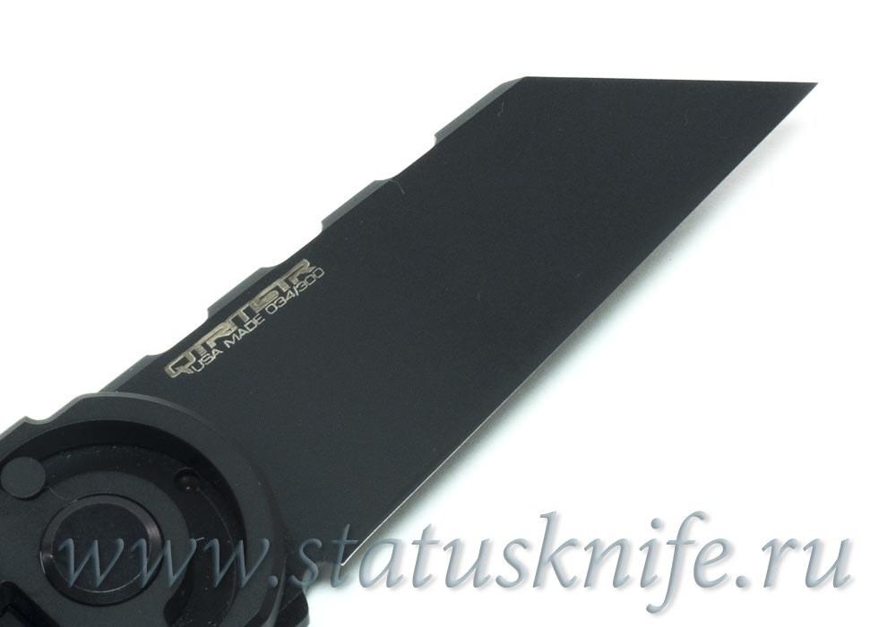 Нож Quartermaster ALF-6 Yoda Black SW Limo Tint - фотография