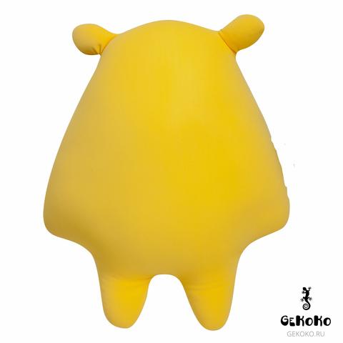 Подушка-игрушка антистресс «Монстрик желтый» 3